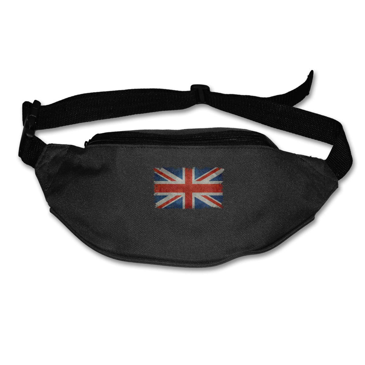 Retro British Flag Sport Waist Pack Fanny Pack Adjustable For Travel