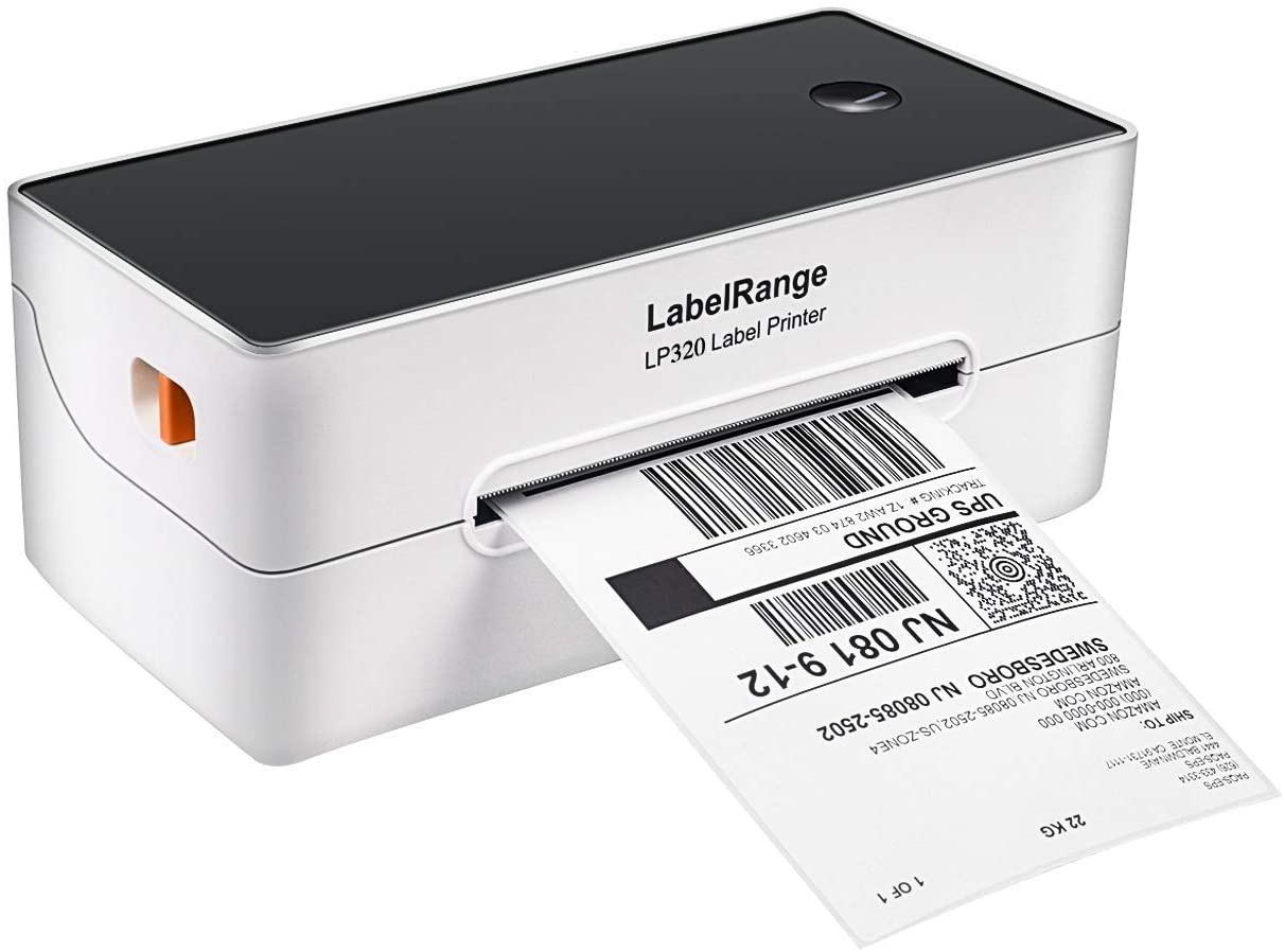 LabelRange LP320 Label Printer – High Speed 4x6 Thermal Printer for Shipping & Postage Labels,Supports Amazon Ebay Paypal Shopify Etsy Shipstation etc. - Compatible with Windows & Mac OS