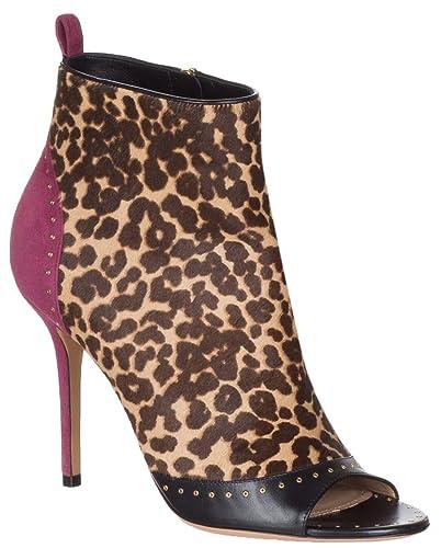 a06d1656a145f Amazon.com: Salvatore Ferragamo Women's Leopard Calf Hair 'Liskia ...