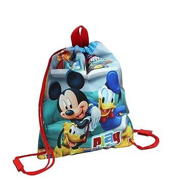 Disney Walt Disney-4523751 Bolsa de merienda, Color Rojo, 30 cm (Joumma 45237)