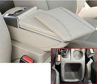 Farbe: SCHWARZ Mittel-Armlehne mit klappbarem staufach Mittel-konsole Leder Fahrzeugspezifisch Mittelarmlehne