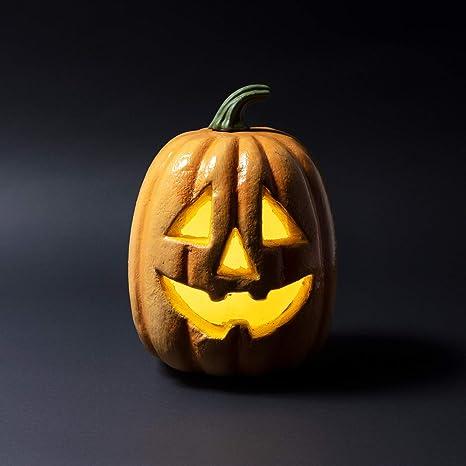 Lights4fun - Zucca di Halloween Decorativa con LED a Pile  Amazon.it ... eeccc38c58a7