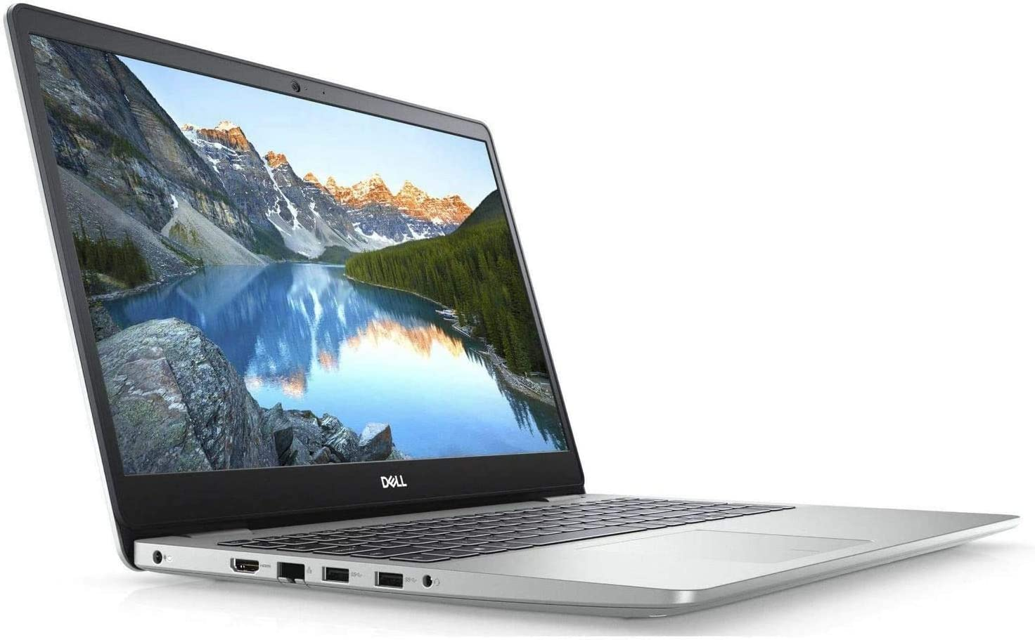 "2020 Dell Inspiron 15 5000 Series Laptop, 15.6"" Full HD Screen, 10th Gen Intel Core i3-1005G1 Processor, 8GB DDR4 RAM, 256GB PCIe NVMe M.2 SSD, HDMI, Wi-Fi, Bluetooth, Win10 Home, Silver (Renewed)"