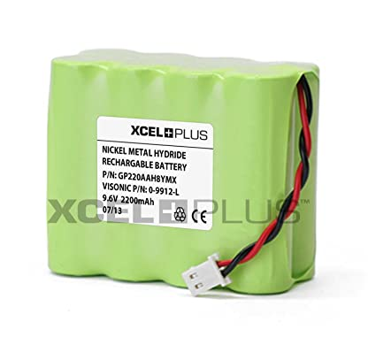 Visonic 1300 mAh PowerMax + Plus 9,6 V Panel de alarma para ...