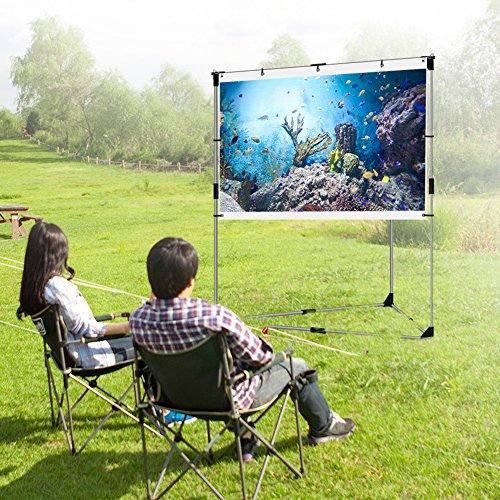 Portable Outdoor Screen : Jaeilplm flicker free portable outdoor projection screen
