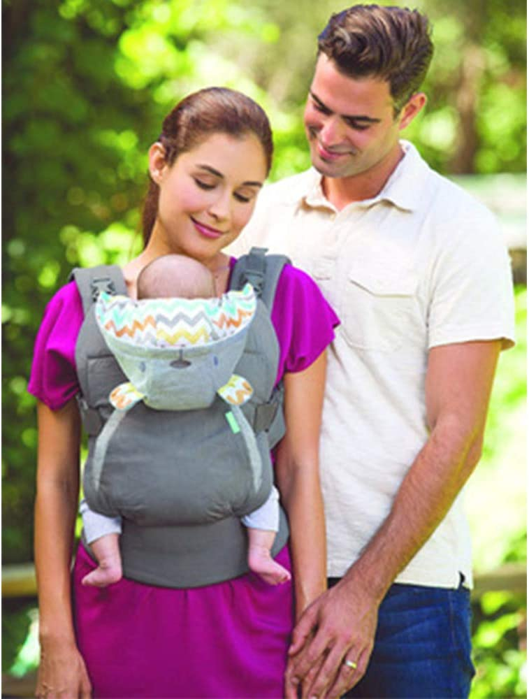 Baby Carrier Sling Portable Child Suspenders Backpack Thickening Shoulders Ergonomic Hoodie Kangaroo Baby Carrier,Gray a