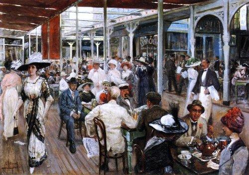 Eugenio Alvarez Dumont The Terrace Cafe, Mar del Plata, Argentina - 18.1