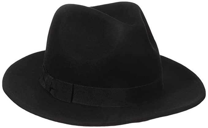 Nine West Women s Felt Flat Brim Fedora Hat 851aea4f22d