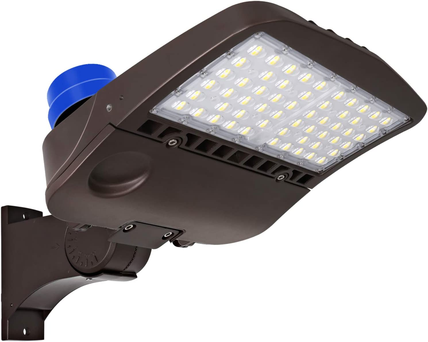 LED Parking Lot Lighting with Photocell, 200W 27, 000LM (135LM/W)Dusk to  Dawn LED Parking Lot Lights, 5000K Commercial LED Shoebox Area Lighting,  Waterproof, [750W HPS Equivalent] Arm Mount - - Amazon.comAmazon.com