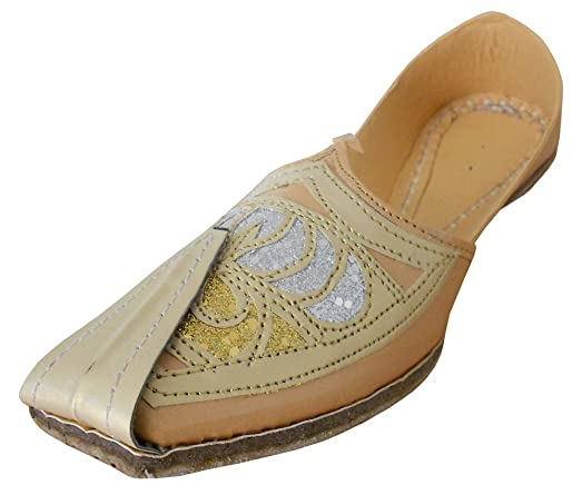 Men's Traditonal Indian Faux Leather Loafer Flats Shoes