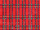 Pack of 1, Tartan Plaid 26'' x 833' Full Ream Gift Wrap (Metallized) for Holiday, Party, Kids' Birthday, Wedding & Special Occasion Packaging