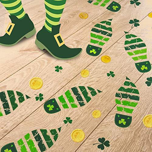 Follow the Leprechaun footprints