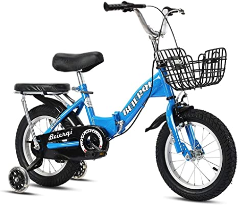 Bicicletas Plegables 2-3-4-6-7 Años de Edad Niño Niña de la ...