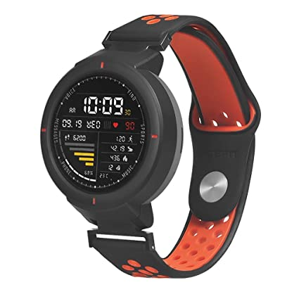 Amazon.com: Cywulin Silicone Band for Huami Amazfit Verge ...