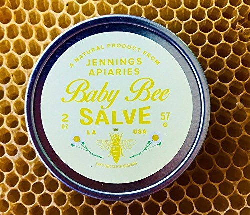 Baby Bee Salve by Jennings Apiaries - Safe for Cloth Diapers -...