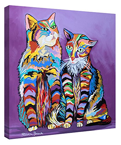 Epic Graffiti Bert & Morag Mccheety by Steven Brown Giclee Canvas Wall Art