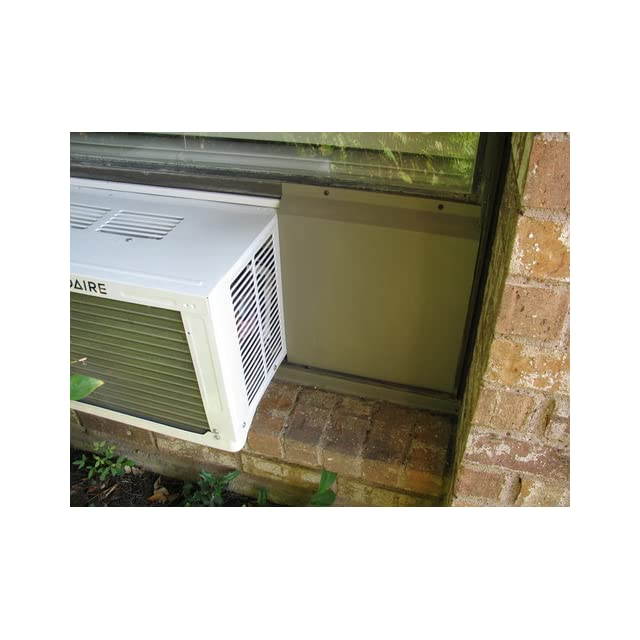 Frigidaire FRA086AT7 8,000 BTU Window Mounted Compact Air Conditioner with Temperature Sensing Remote