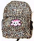 Clover Cheetah Print Backpack – Cute Skull 96, Bags Central