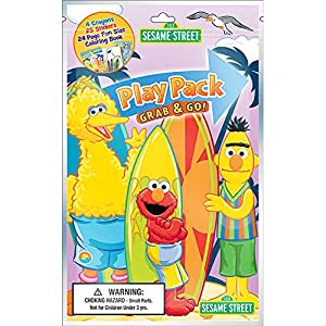 Bendon Sesame Street Grab & Go Play Pack