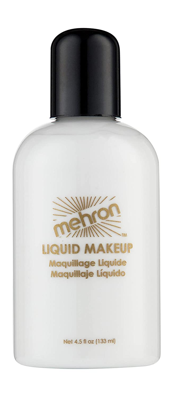 Mehron Makeup Liquid Face and Body Paint (4.5 oz) (WHITE)