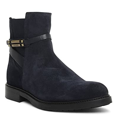 7b6059ee6c998 Tommy Hilfiger Classic Suede Ankle Boot In Navy  Amazon.co.uk  Shoes   Bags