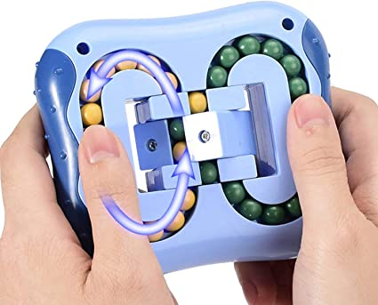 Amazon.com: Stress Relief Intellectual Toy Magic Beans Game Magic Fidget  Cube Hand-Eye Coordination Improve Intelligence Brain Teasers Relaxing Toys  for Kids Adult (Blue): Toys & Games