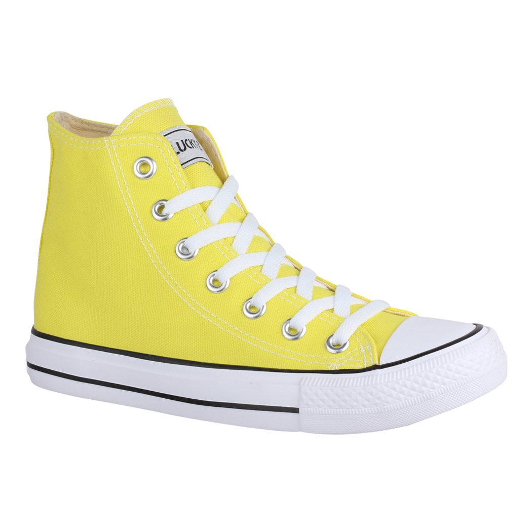 Elara Yellow Femme Low-Top 19997 Femme Yellow d85e5b8 - shopssong.space
