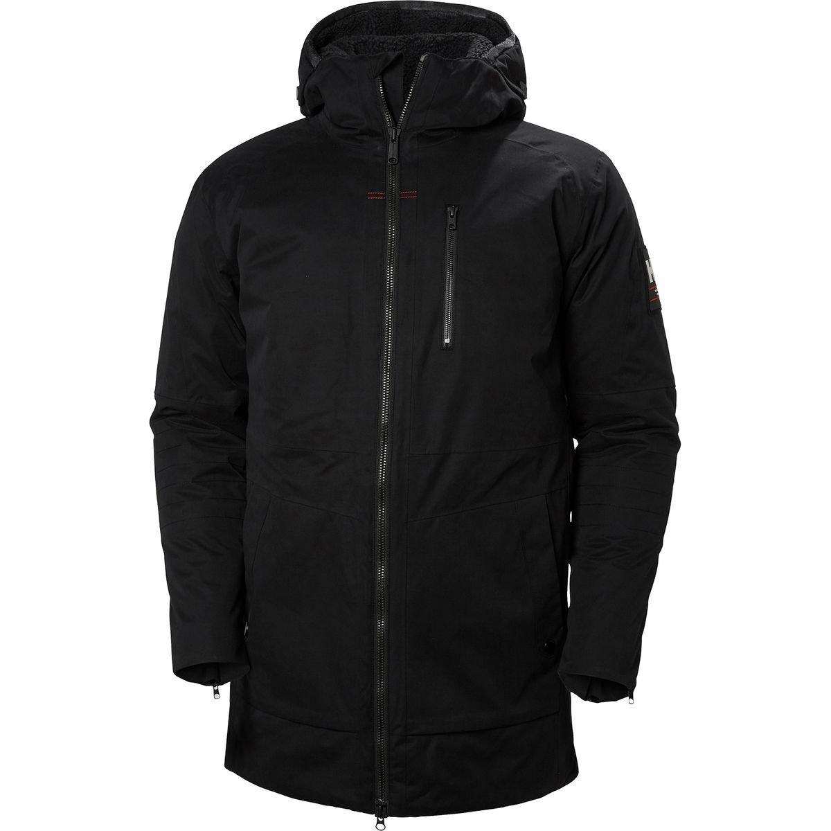 (ヘリーハンセン) Helly Hansen Njord Parka メンズ ジャケットBlack [並行輸入品] B076WL7WD4 日本サイズ L (US M)|Black Black 日本サイズ L (US M)