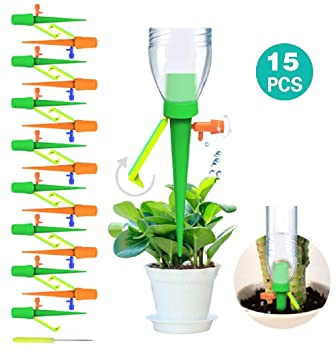 5x Automatic Self Watering Spike Slow Release Vacation Garden Plants System UK