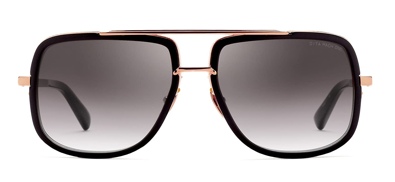 ff4aff18fda8 Dita MACH-ONE MATTE BLACK ROSE GOLD/DARK GREY SHADED men Sunglasses:  Amazon.ca: Clothing & Accessories