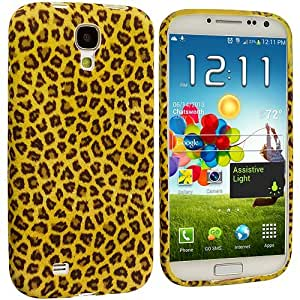 Accessory Planet(TM) Yellow Leopard TPU Design Soft Rubber Case Cover Accessory for Samsung Galaxy S4 by lolosakes