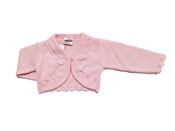2e47ff74d Baby Girls Bolero Fancy Cardigan Shrug 0 - 24 months (3-6 Months ...