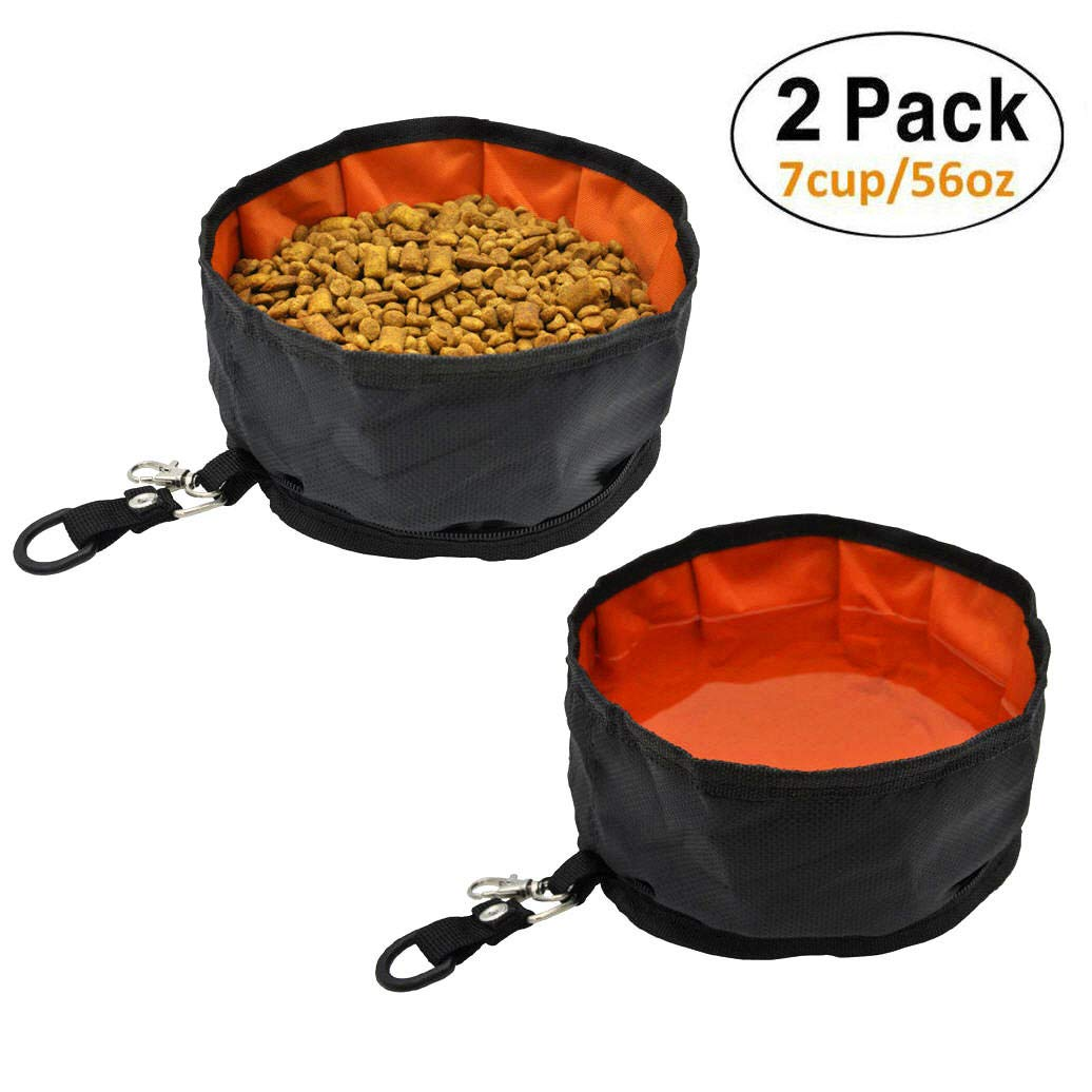 Ayada Collapsible Dog Travel Bowls Large Portable Pet