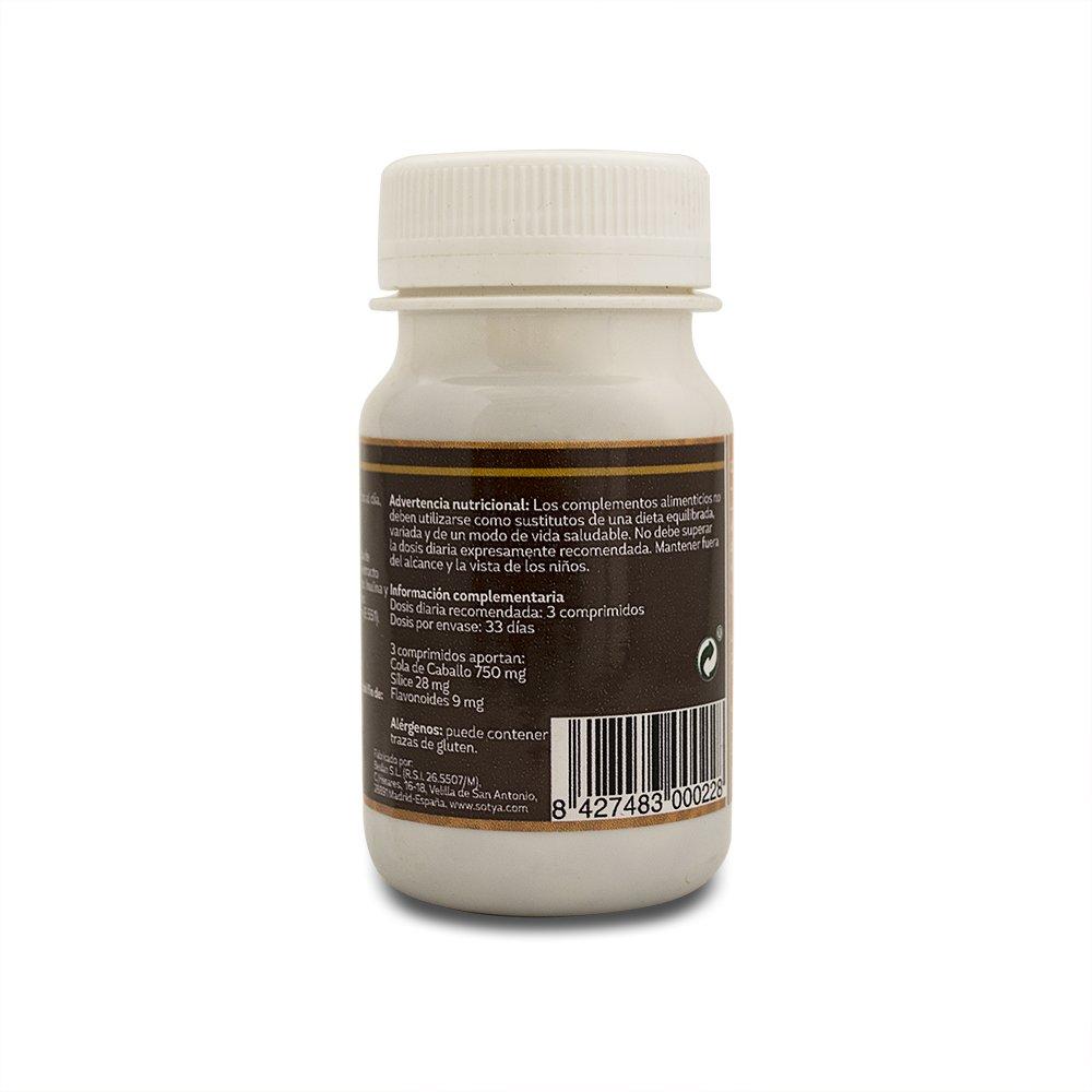 SOTYA - SOTYA Cola de Caballo 100 comprimidos 500 mg: Amazon.es: Salud y cuidado personal