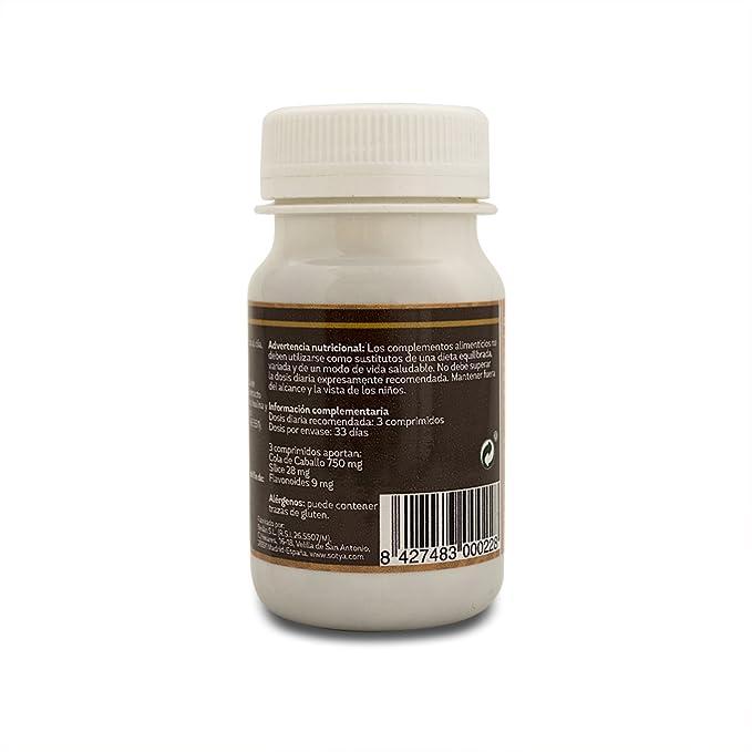 SOTYA Cola de Caballo 100 comprimidos 500mg: Amazon.es: Salud y cuidado personal