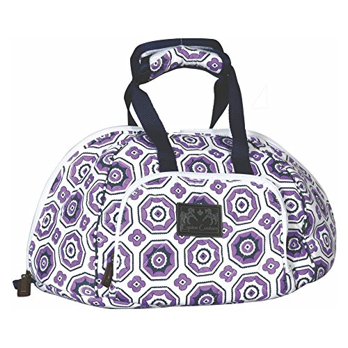 Equine Couture Kelsey Hat Bag Purple STD by Equine Couture