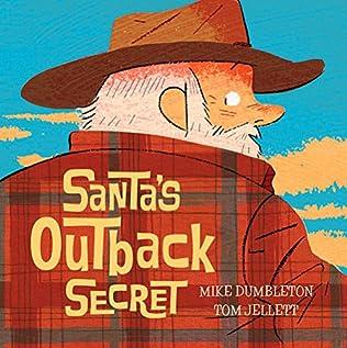 book cover of Santa\'s Outback Secret