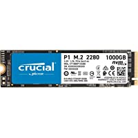 Crucial CT1000P1SSD8 1 TB 3D NAND NVMe PCIe M.2 SSD