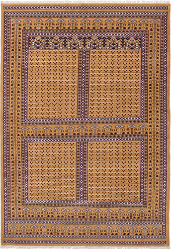 eCarpet Gallery Hand-Knotted Peshawar Bokhara 6