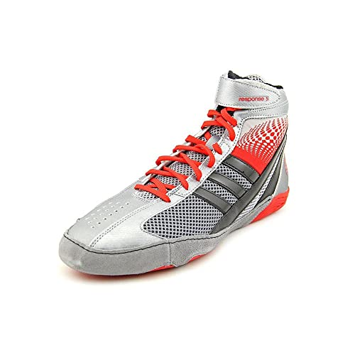 brand new a8597 c93bf Adidas Response 3.1 Wrestling Shoes - nero   grigio   bianco   oro solare -  5  Amazon.it  Scarpe e borse