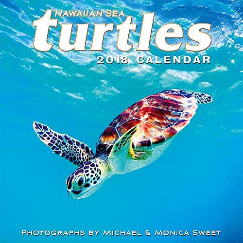 Hawaii 2018 Deluxe Wall Calendar - Hawaiian Sea Turtles by Michael & Monica Sweet