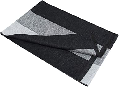 72 x 12 inch Gnzoe Mens Scarf Winter Warm Cozy Soft Cotton Solid-colored Scarf for Men