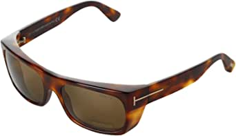 Tom Ford - TOBY FT 0440, Geometric, acetate, men, BLONDE HAVANA/BROWN(53J), 56/18/130