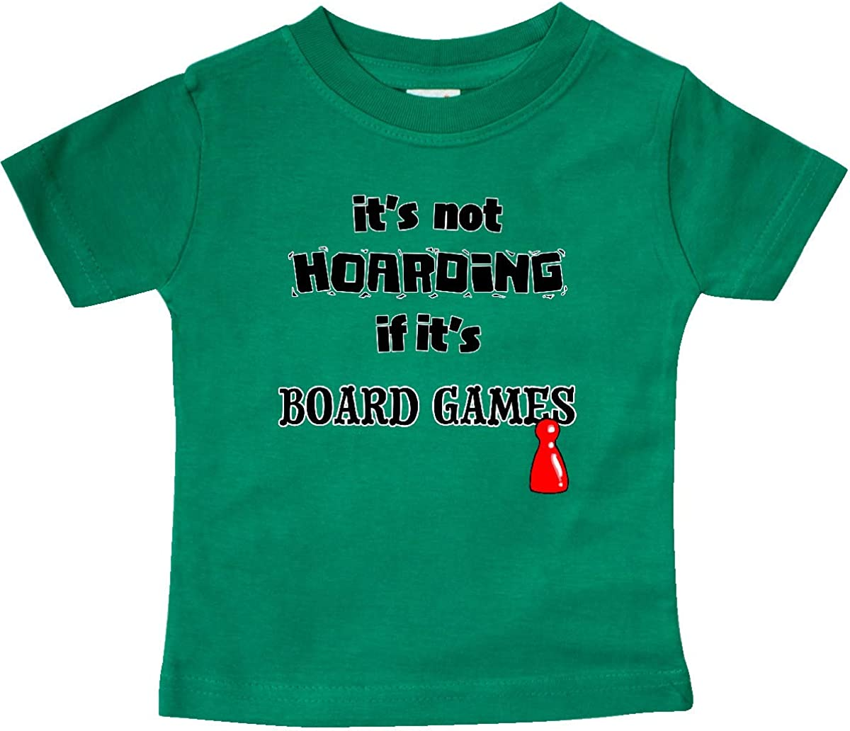inktastic Its Not Hoarding If Its Board Games Baby T-Shirt