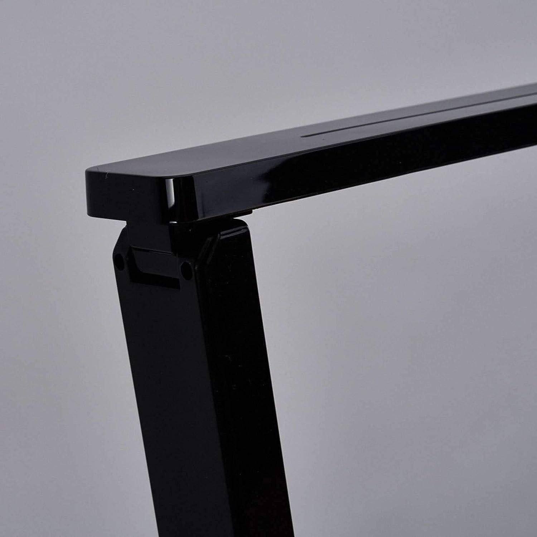 ad es di Lampenwelt Studio /& Ufficio Moderno 1 luce, A+ lampada da scrivania a LED Lampada da tavolo LED Eleni colore Nero