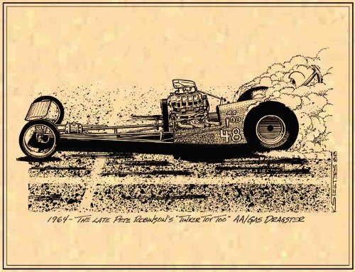 Sneaky Pete Robinson's Dragster (Dragster Steering)