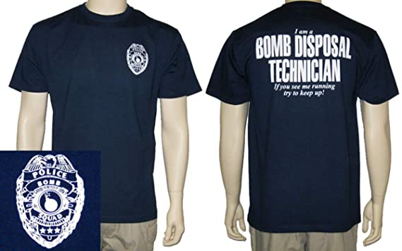 e0326faf6 Amazon.com: Firestone Bomb Squad T-Shirt (If You See Me Running ...