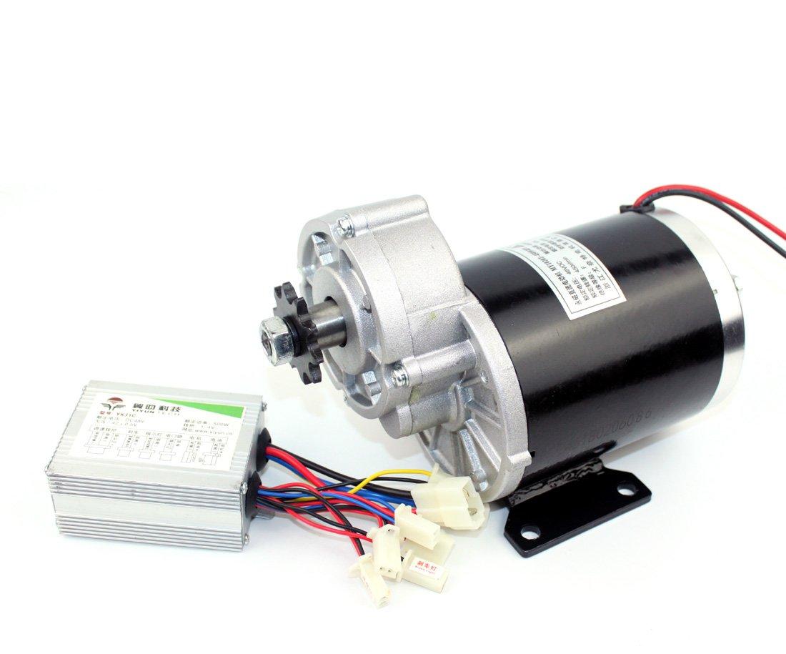 24v36v48v 450ワットunitemotor my1020z電動トライク起毛ギアボックス電動エンジン用電動3輪三輪車 [並行輸入品] B07BNFMRYP24V kit