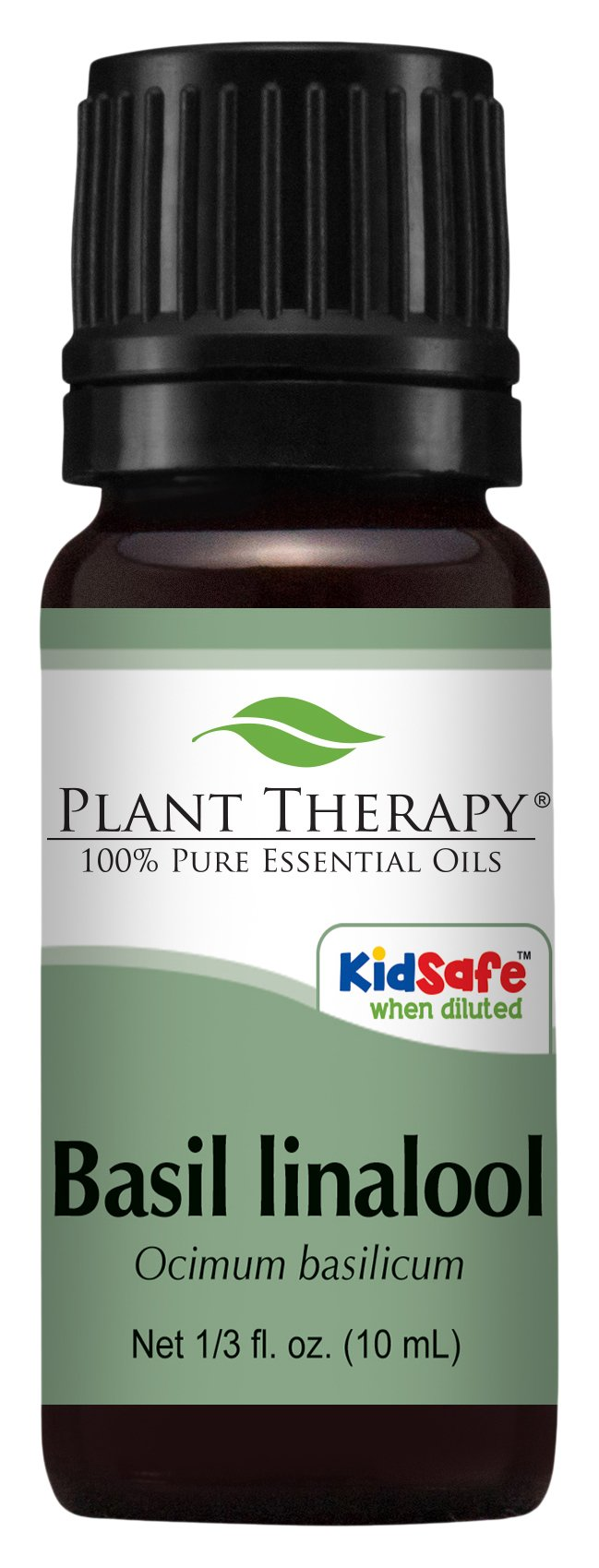 Plant Therapy Basil (linalool CT) Essential Oil. 100% Pure, Undiluted, Therapeutic Grade. 10 ml (1/3 oz).