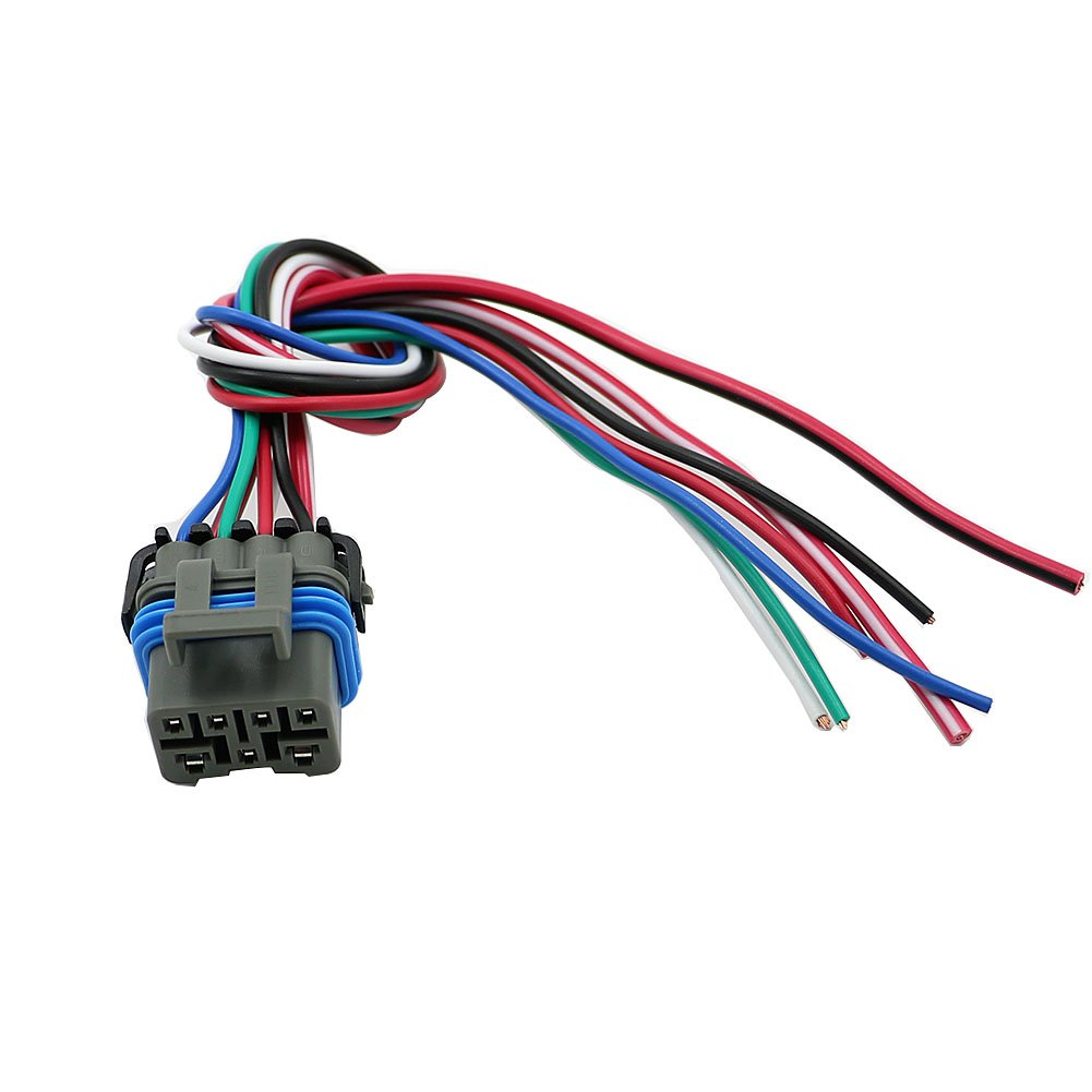 Alpha Rider 4L60E 4L80E Neutral Safety Switch Connector Pigtail, 7 Wire Transmission MLPS Range Switch Connector Pigtail Motofans
